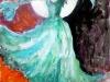 Laugardags Perla (2013 Vatnslitir og blek 68sm x 49sm)